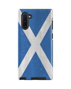 Scotland Flag Distressed Galaxy Note 10 Pro Case
