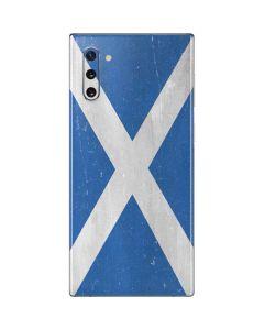 Scotland Flag Distressed Galaxy Note 10 Skin
