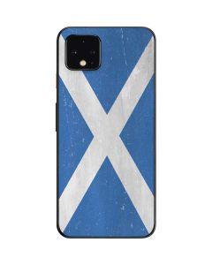 Scotland Flag Distressed Google Pixel 4 Skin