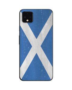 Scotland Flag Distressed Google Pixel 4 XL Skin