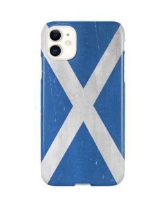 Scotland Flag Distressed iPhone 11 Lite Case
