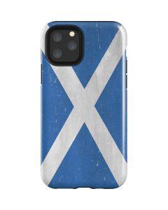 Scotland Flag Distressed iPhone 11 Pro Impact Case