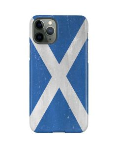 Scotland Flag Distressed iPhone 11 Pro Lite Case