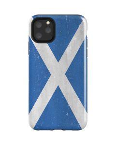 Scotland Flag Distressed iPhone 11 Pro Max Impact Case
