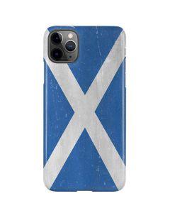 Scotland Flag Distressed iPhone 11 Pro Max Lite Case
