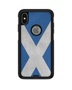 Scotland Flag Distressed Otterbox Commuter iPhone Skin