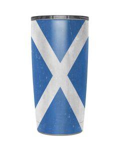 Scotland Flag Distressed Yeti 20oz Tumbler Skin