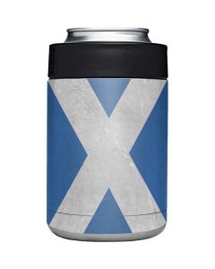 Scotland Flag Distressed Yeti Colster Can Insulator Skin