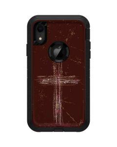 Scratch Cross Otterbox Defender iPhone Skin