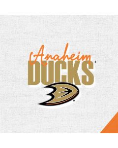 Anaheim Ducks Script Apple AirPods Skin