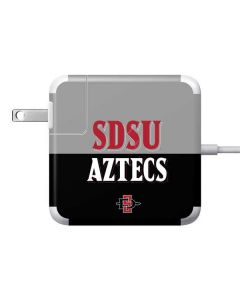 SDSU Aztecs 85W Power Adapter (15 and 17 inch MacBook Pro Charger) Skin