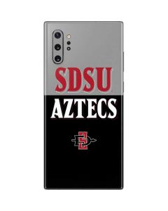 SDSU Aztecs Galaxy Note 10 Plus Skin