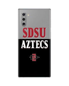 SDSU Aztecs Galaxy Note 10 Skin