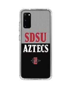 SDSU Aztecs Galaxy S20 Clear Case