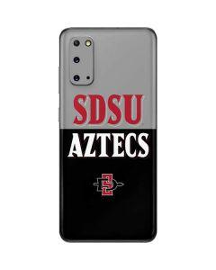 SDSU Aztecs Galaxy S20 Skin
