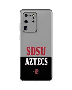SDSU Aztecs Galaxy S20 Ultra 5G Skin