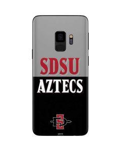 SDSU Aztecs Galaxy S9 Skin