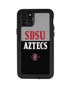 SDSU Aztecs iPhone 11 Pro Max Waterproof Case
