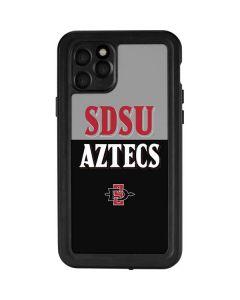 SDSU Aztecs iPhone 11 Pro Waterproof Case