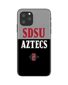 SDSU Aztecs iPhone 11 Pro Skin