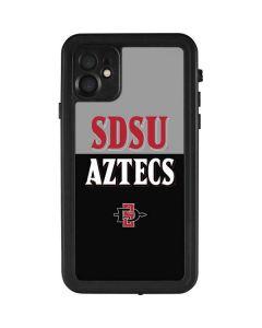 SDSU Aztecs iPhone 11 Waterproof Case
