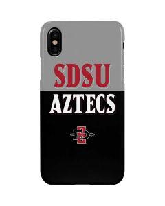 SDSU Aztecs iPhone XS Max Lite Case