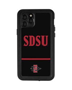 SDSU iPhone 11 Pro Waterproof Case