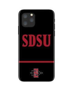SDSU iPhone 11 Pro Skin