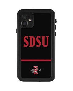 SDSU iPhone 11 Waterproof Case