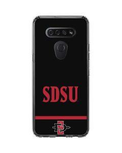 SDSU LG K51/Q51 Clear Case