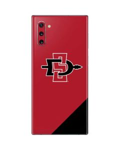 SDSU Logo Galaxy Note 10 Skin