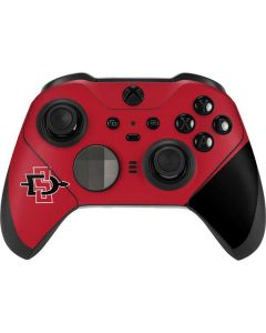 SDSU Logo Xbox Elite Wireless Controller Series 2 Skin