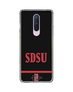 SDSU OnePlus 8 Clear Case