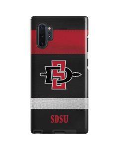 SDSU Striped Galaxy Note 10 Plus Pro Case