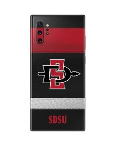 SDSU Striped Galaxy Note 10 Plus Skin