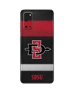 SDSU Striped Galaxy S20 Skin
