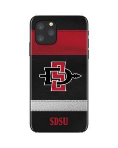 SDSU Striped iPhone 11 Pro Skin