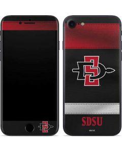SDSU Striped iPhone SE Skin