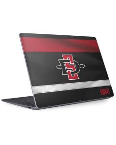 SDSU Striped Surface Laptop 3 13.5in Skin
