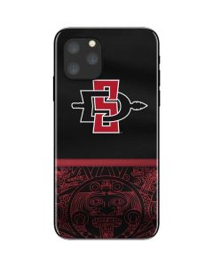 SDSU Tribal Print iPhone 11 Pro Skin