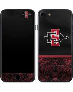 SDSU Tribal Print iPhone SE Skin