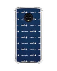 Seattle Seahawks Blitz Series Moto G6 Clear Case