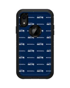 Seattle Seahawks Blitz Series Otterbox Defender iPhone Skin
