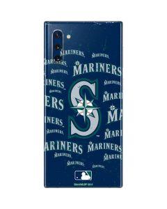 Seattle Mariners - Cap Logo Blast Galaxy Note 10 Skin
