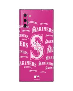 Seattle Mariners - Pink Cap Logo Blast Galaxy Note 10 Skin