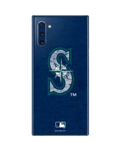 Seattle Mariners - Solid Distressed Galaxy Note 10 Skin