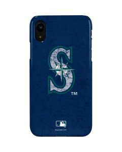 Seattle Mariners - Solid Distressed iPhone XR Lite Case