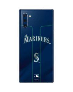 Seattle Mariners Alternate/Away Jersey Galaxy Note 10 Skin