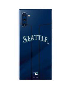 Seattle Mariners Alternate Road Jersey Galaxy Note 10 Skin