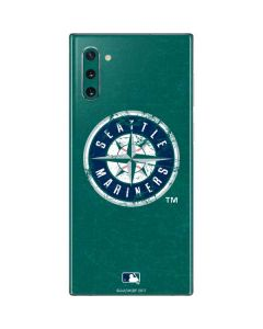 Seattle Mariners- Alternate Solid Distressed Galaxy Note 10 Skin